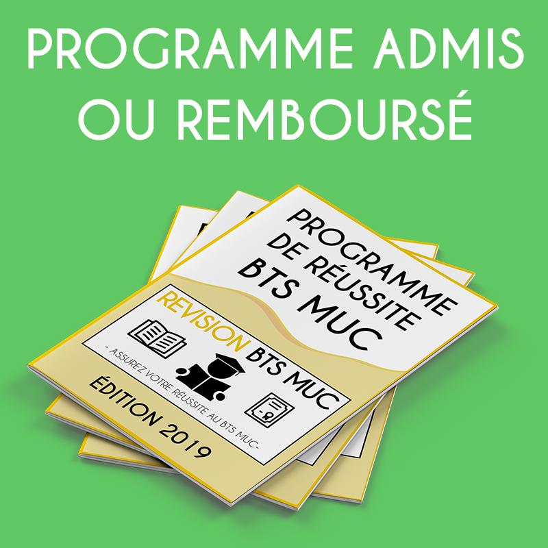 r u00e9vision bts muc   programme admis ou rembours u00c9