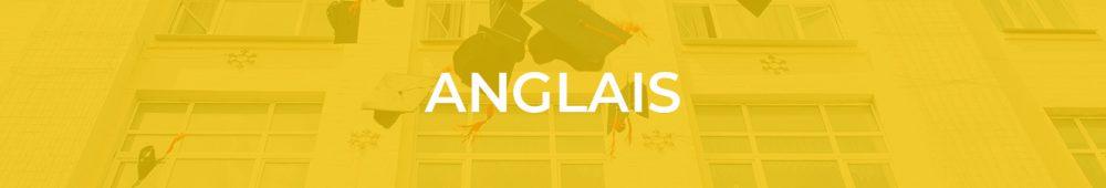 informations sur l'épreuve d'anglais